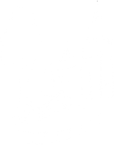 Egen-Zeichen mit Kirche und Zeltplatz