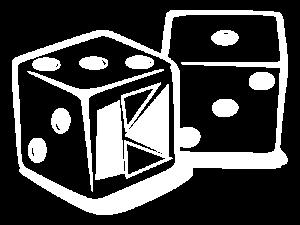 Würfel-Zeichen zu Spielenacht